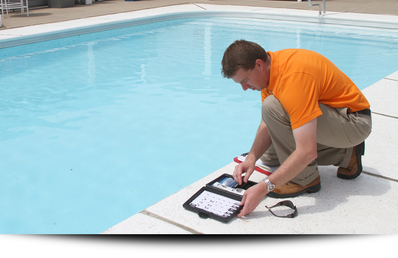 Home Buyer Swimming Pool Inspection Austin Pro Leak